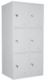 tủ locker 6 ngăn chứa đồ